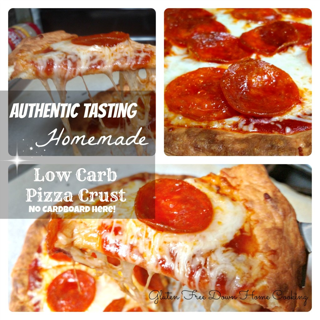 Homemade Low Carb Pizza Crust Title)