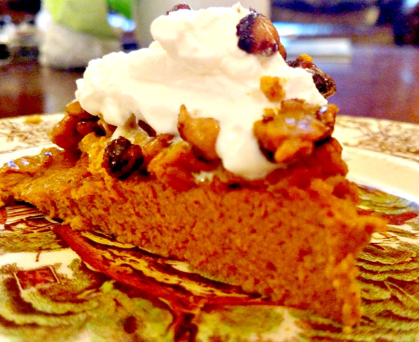 Simple Crustless Low Carb Pumpkin Pie