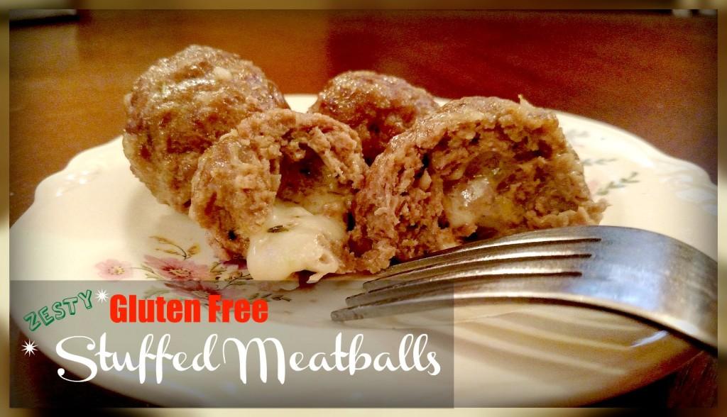 Zesty Stuffed Gluten Free Meatball Recipe