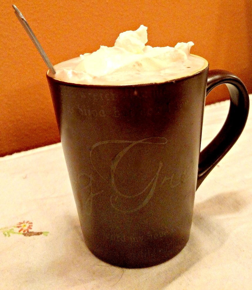 make homemade low carb hot chocolate