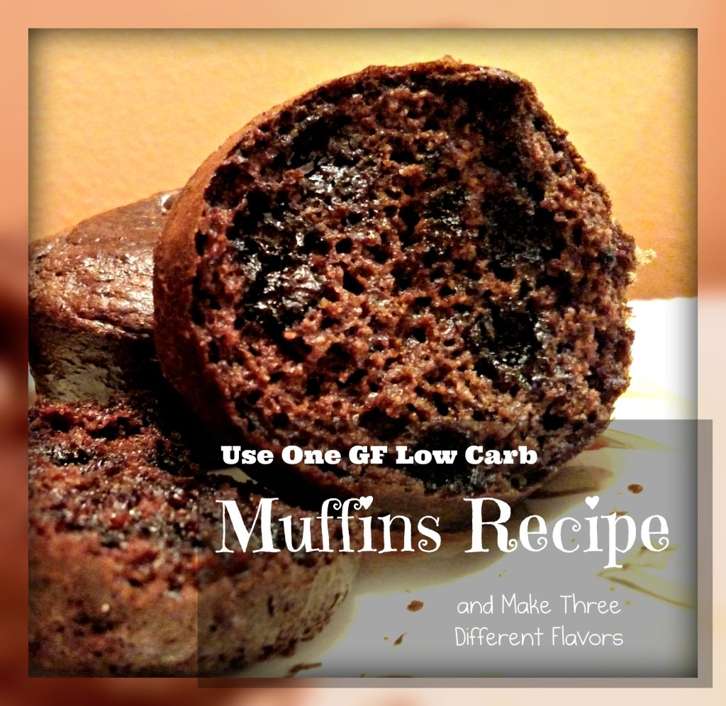 Versatile GF Low Carb Muffins Recipe