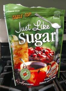 natural sugar substitute baking
