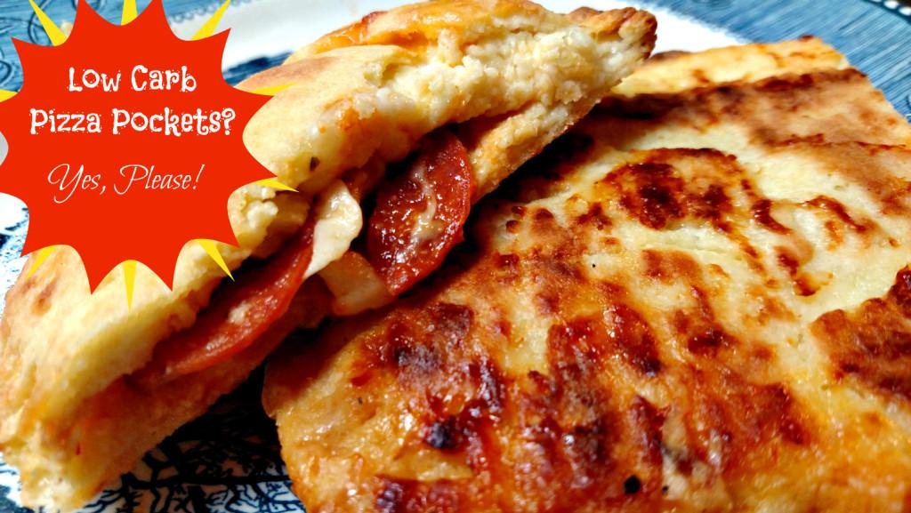Low Carb Pizza Pocket