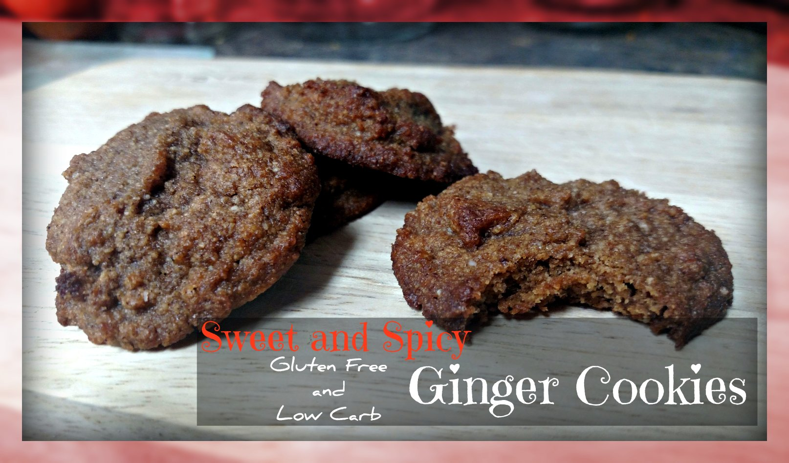 Sweet and Spicy Low Carb Ginger Cookies Recipe