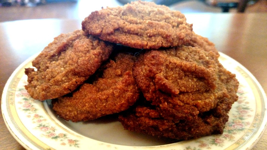 low carb spice cookies