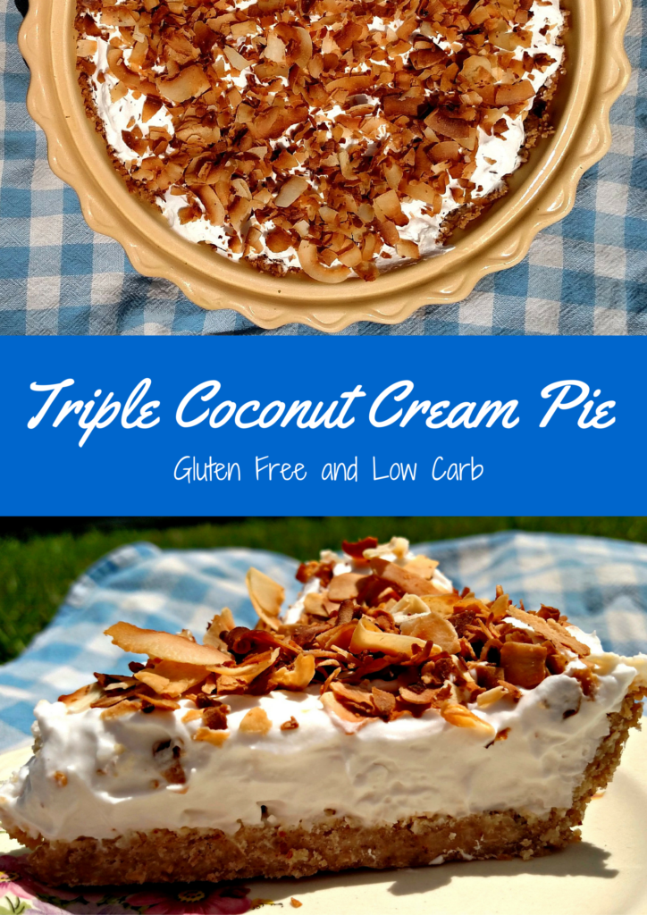 Gluten Free Low Carb Coconut Pie