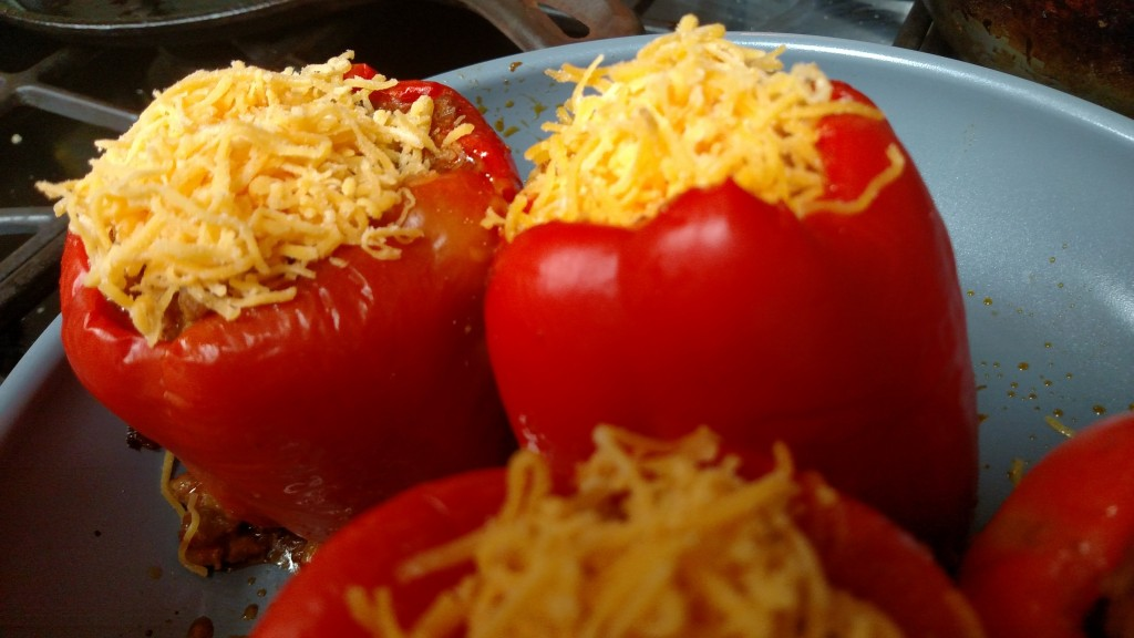gluten free low carb Stuffed bell peppers